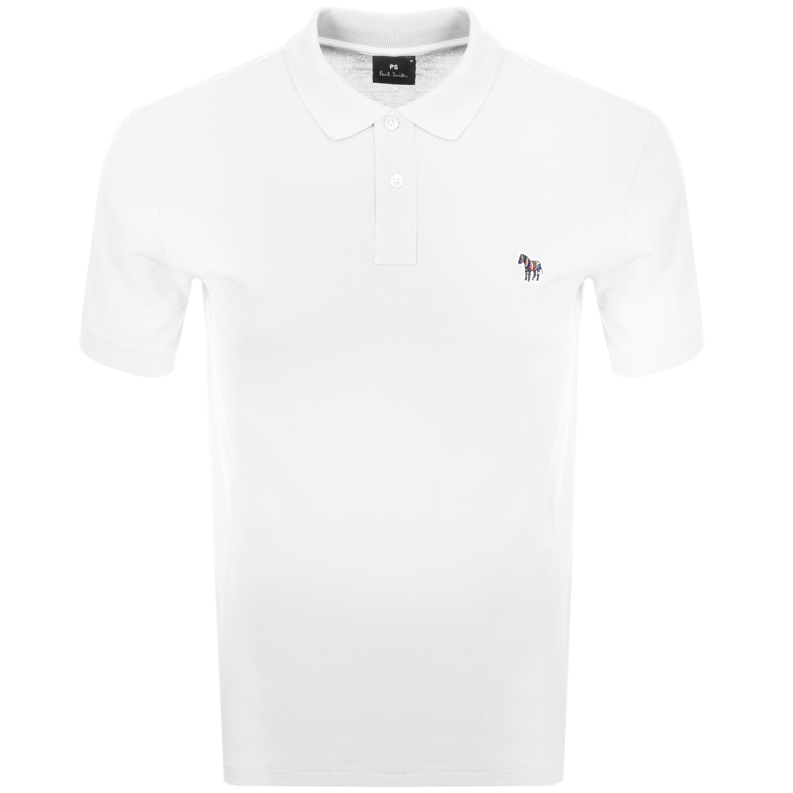 bec42594bd1bf Product Image for PS By Paul Smith Regular Polo T Shirt White