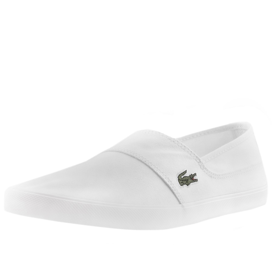 Lacoste Marice Plimsoll White