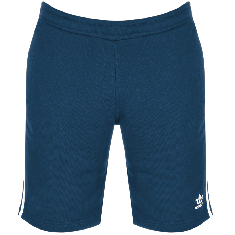 9a5d8529cb99 Product Image for Adidas Originals Three Stripe Shorts Blue