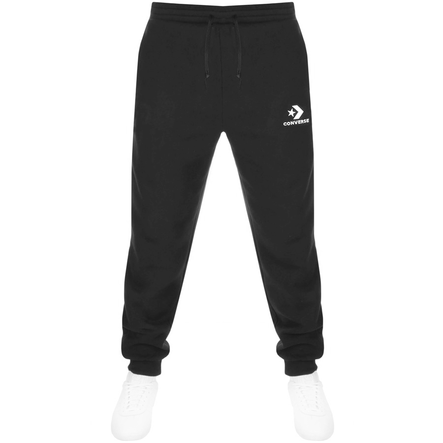 Converse Star Chevron Logo Jogging Bottoms Black