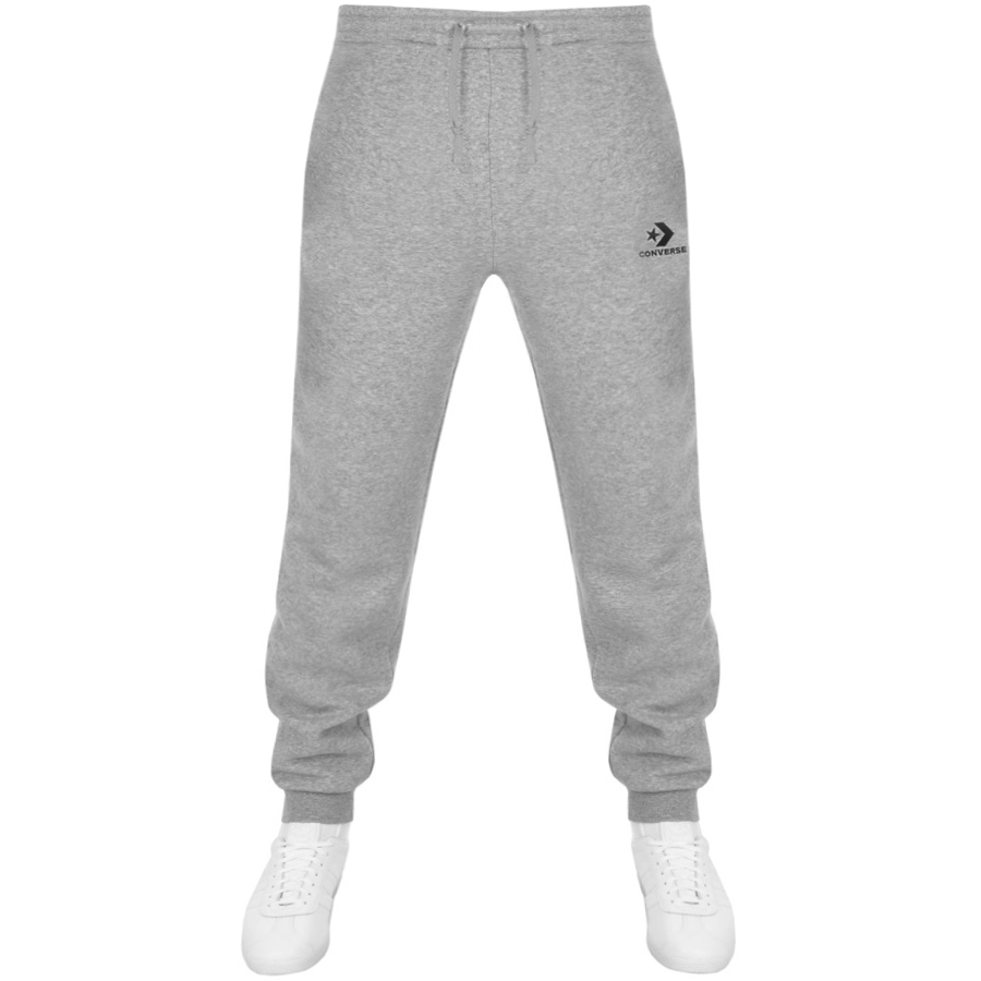 73b9d84c448a Product Image for Converse Star Chevron Logo Jogging Bottoms Grey