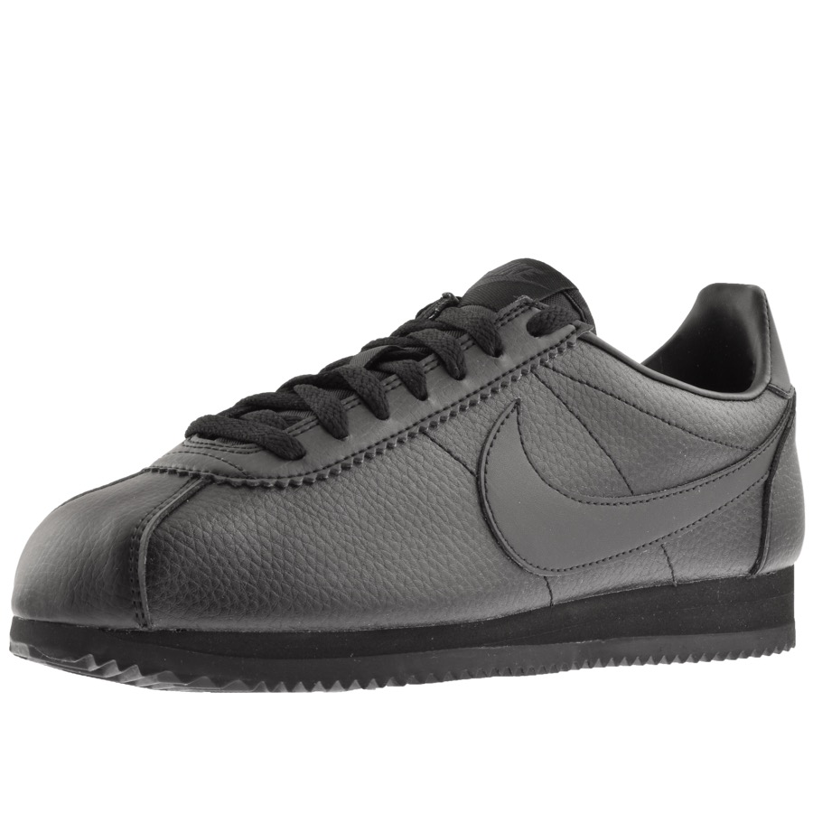 5ddd04f3bd18 Product Image for Nike Classic Cortez Trainers Black