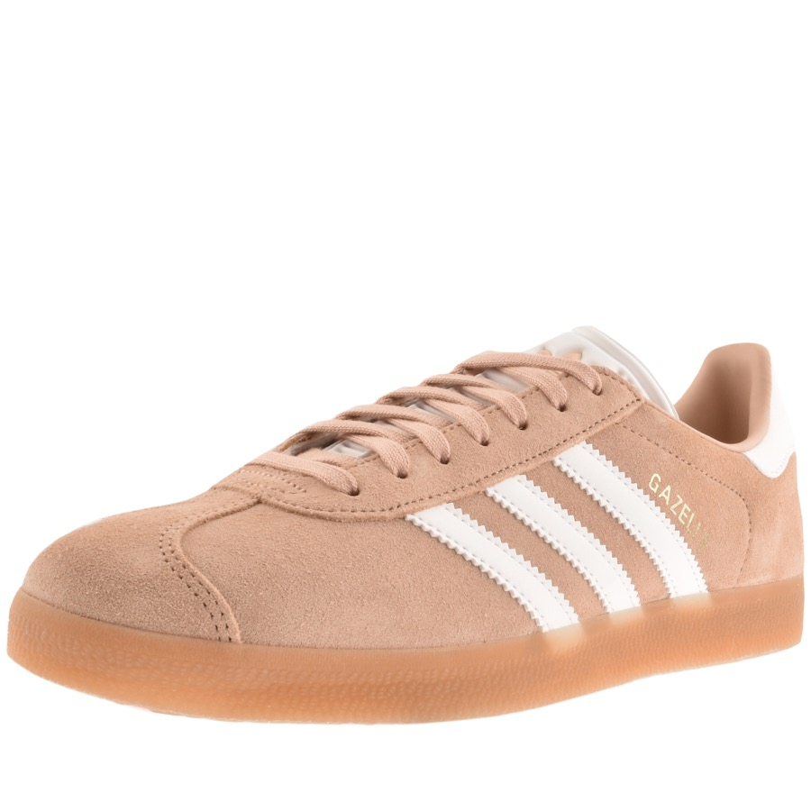 competitive price 63607 7eb86 Product Image for adidas Originals Gazelle Trainers Brown
