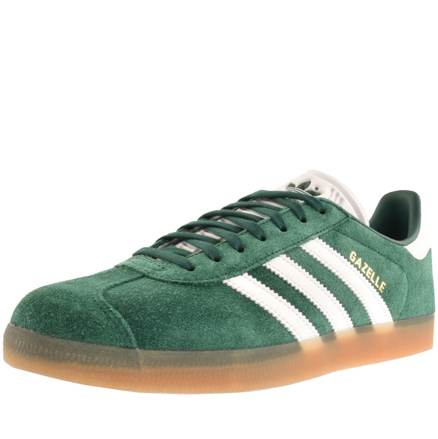 813ec7a28 Product Image for adidas Originals Gazelle Trainers Green