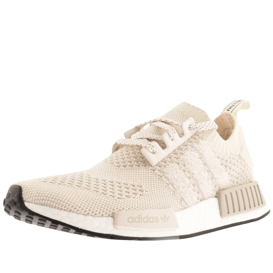 taille 40 fb55b 57a7a adidas NMD R1 Prime Knit Trainers Cream | Mainline Menswear