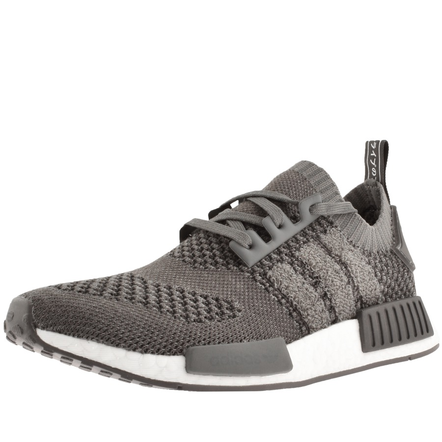 reputable site 8fb0a e027d adidas NMD R1 Prime Knit Trainers Grey | Mainline Menswear