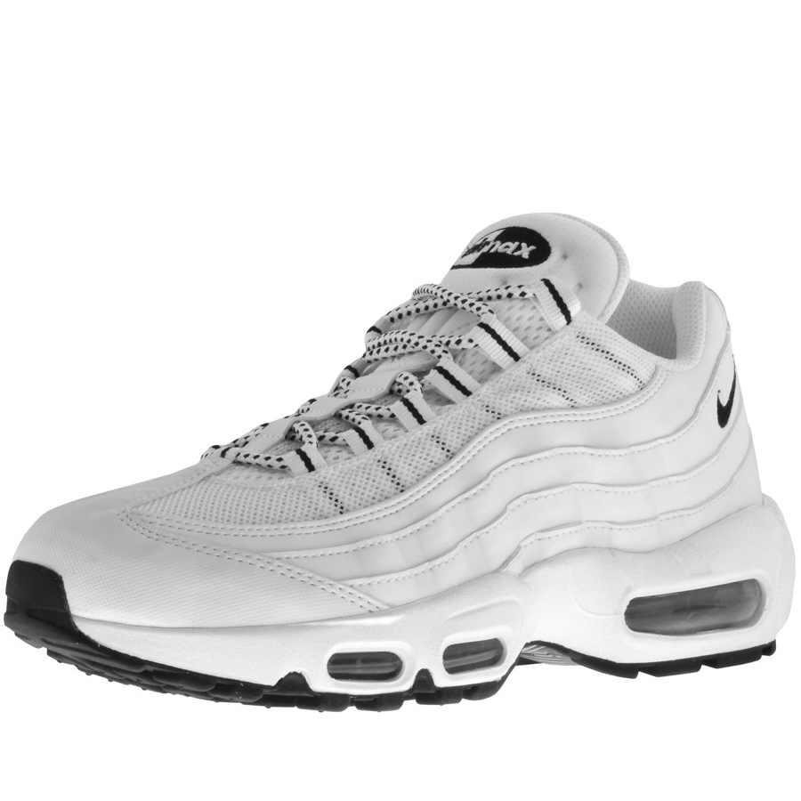 Nike Wmns Air Max 95 Essential Grey White Black Blue 807743 064 Women's Running Shoes Fashion Trainers
