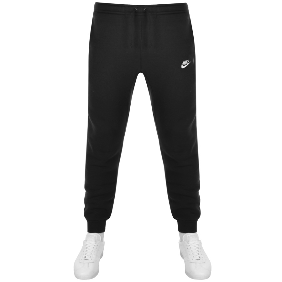 Nike Tapered Fit Club Jogging Bottoms Black
