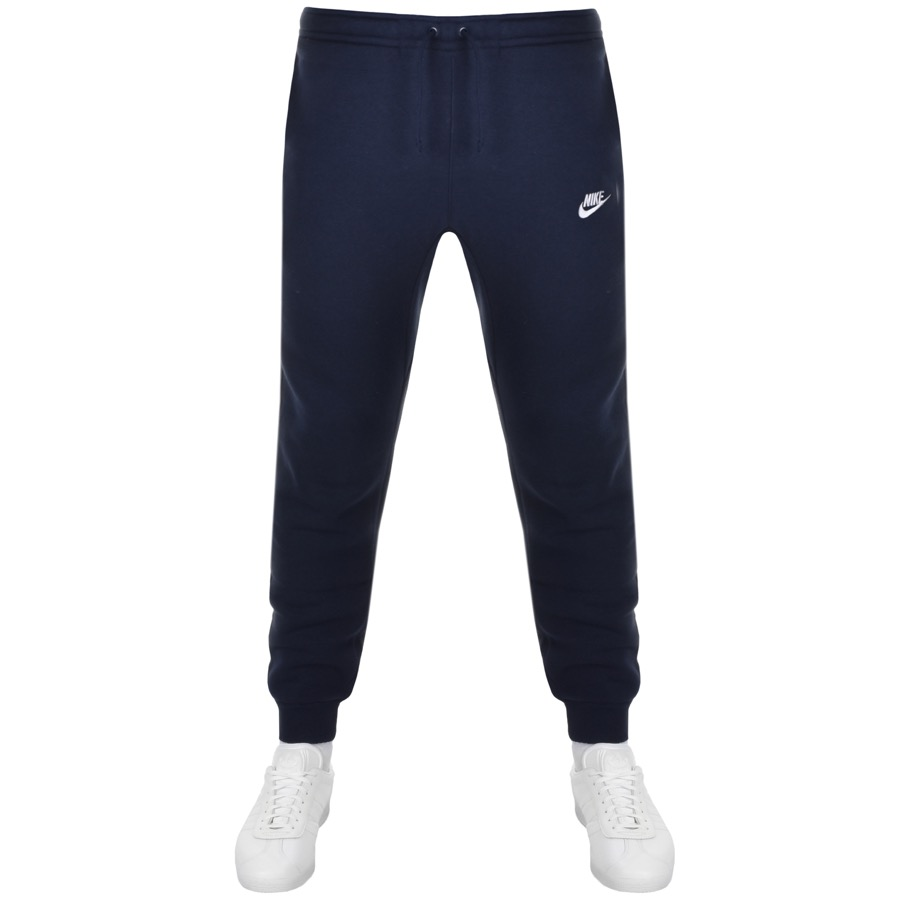 815f80ff0282 Product Image for Nike Tapered Fit Club Jogging Bottoms Navy
