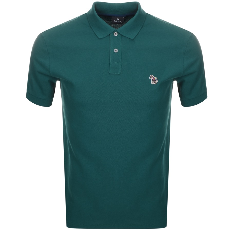 479f57af Alternative Image for ProductPS By Paul Smith Zebra Polo T Shirt Green1 ...
