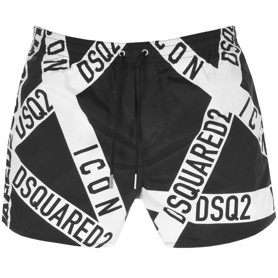 799685374d Product Image for DSQUARED2 Swim Shorts Black