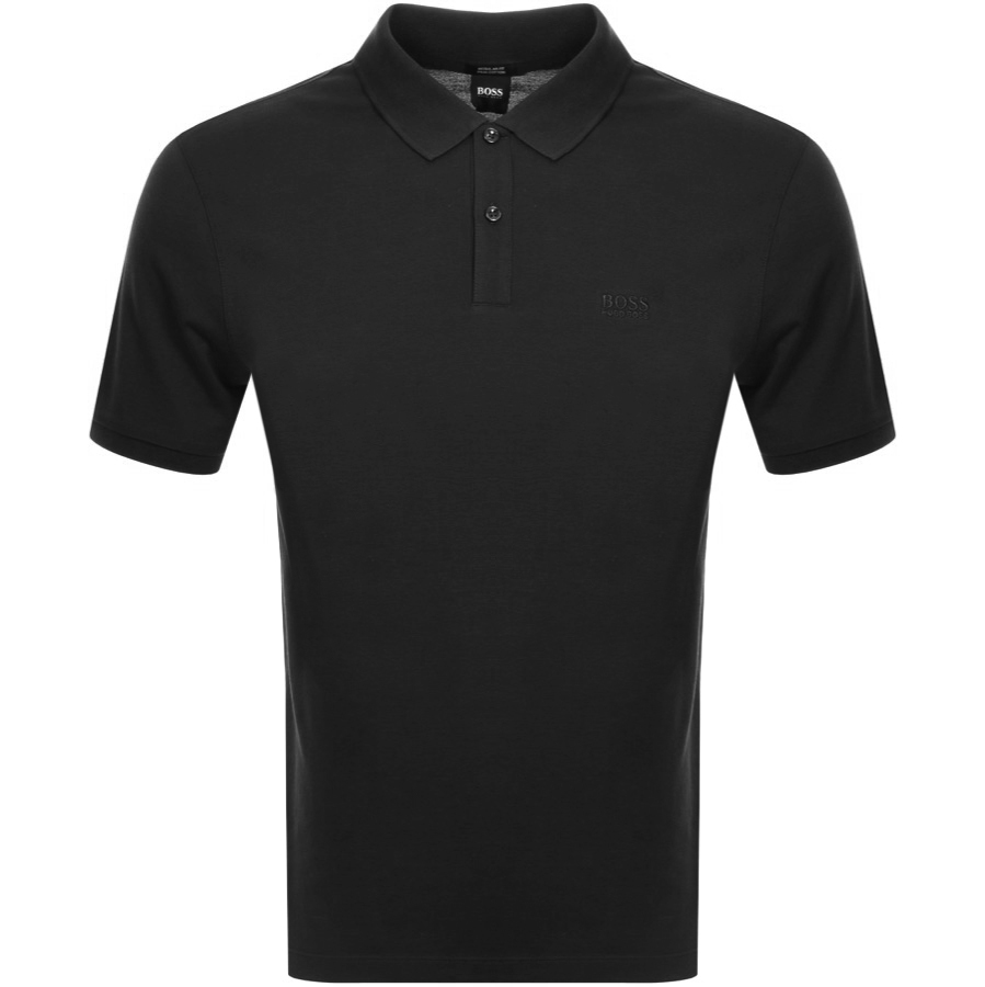 a5050f422d Product Image for BOSS HUGO BOSS Pallas Polo T Shirt Black