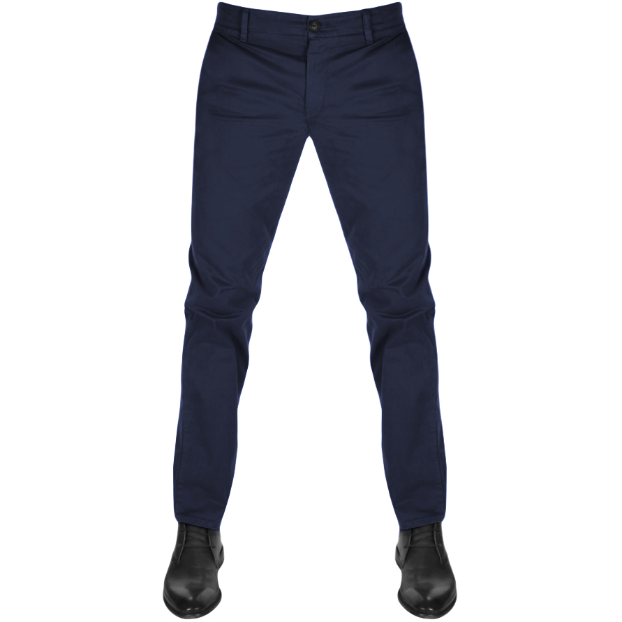BOSS Casual Schino Slim D Chinos Navy