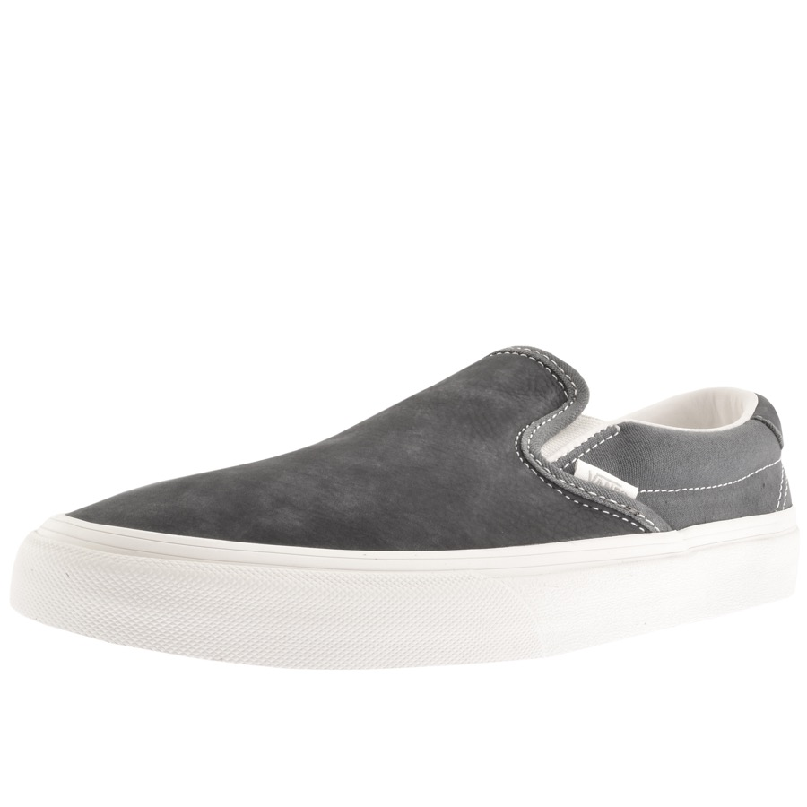 b8aad4c667 Product Image for Vans Classic Slip On 59 Trainers Grey