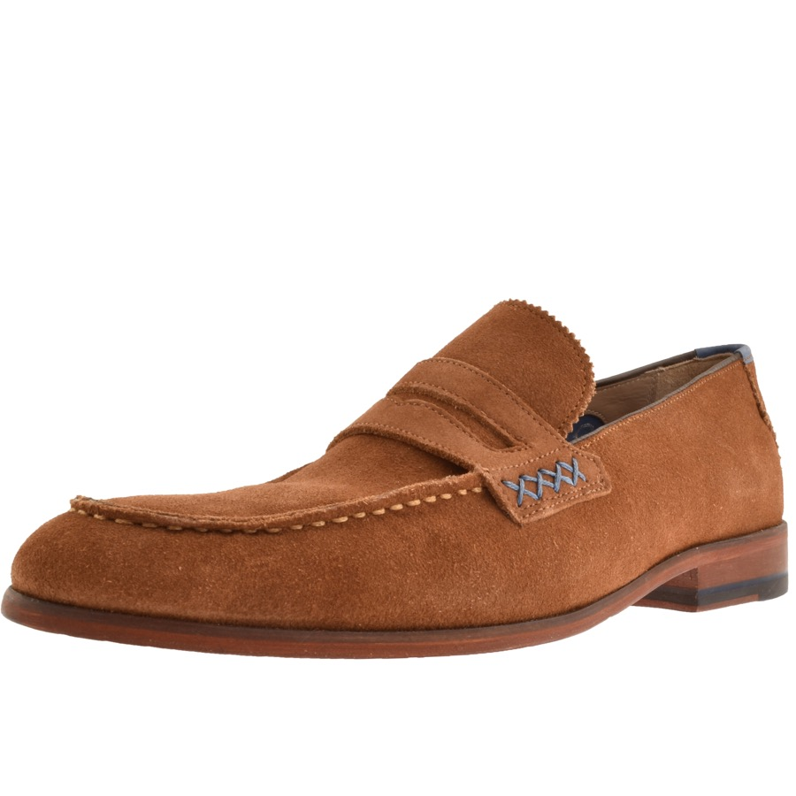 1980ec6db7cc6 Product Image for Sweeney London Longbridge Loafers Brown