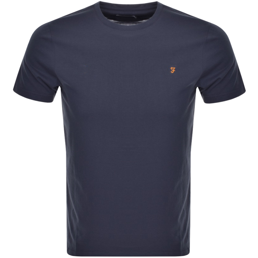 Main Product Image for Farah Vintage Denny T Shirt Navy