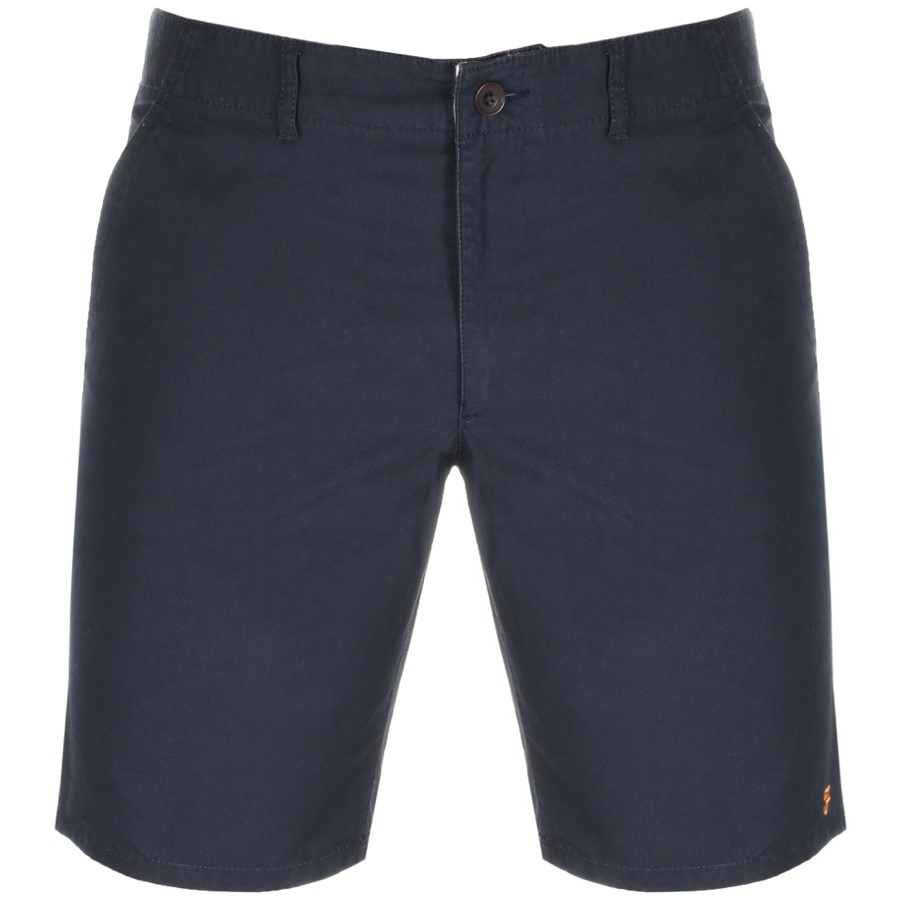 Farah Vintage Hawk Chino Shorts Navy