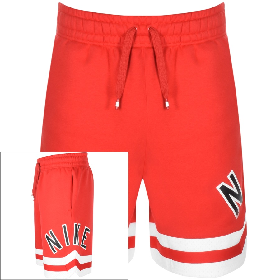 Nike Air Logo Shorts Red