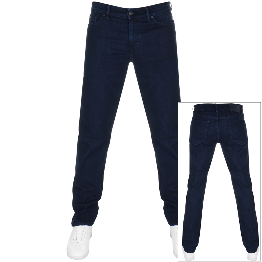 Main Product Image for BOSS Casual Maine Regular Fit Jeans Navy