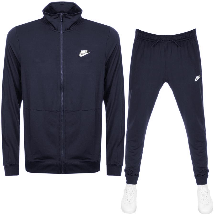 Nike Standard Fit Tracksuit Navy