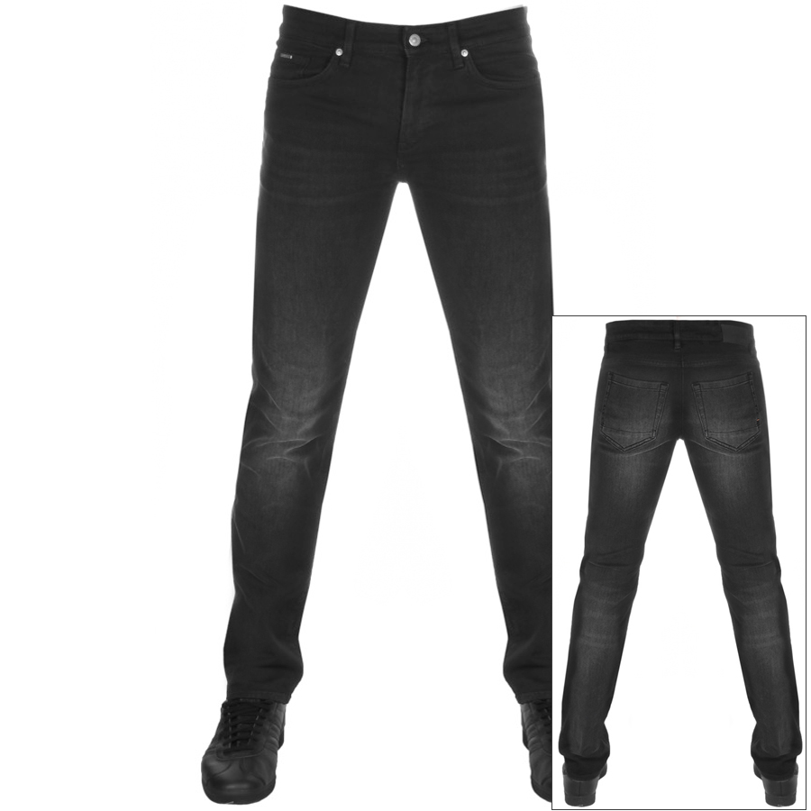 Main Product Image for BOSS Casual Charleston Extra Slim Fit Jeans Black