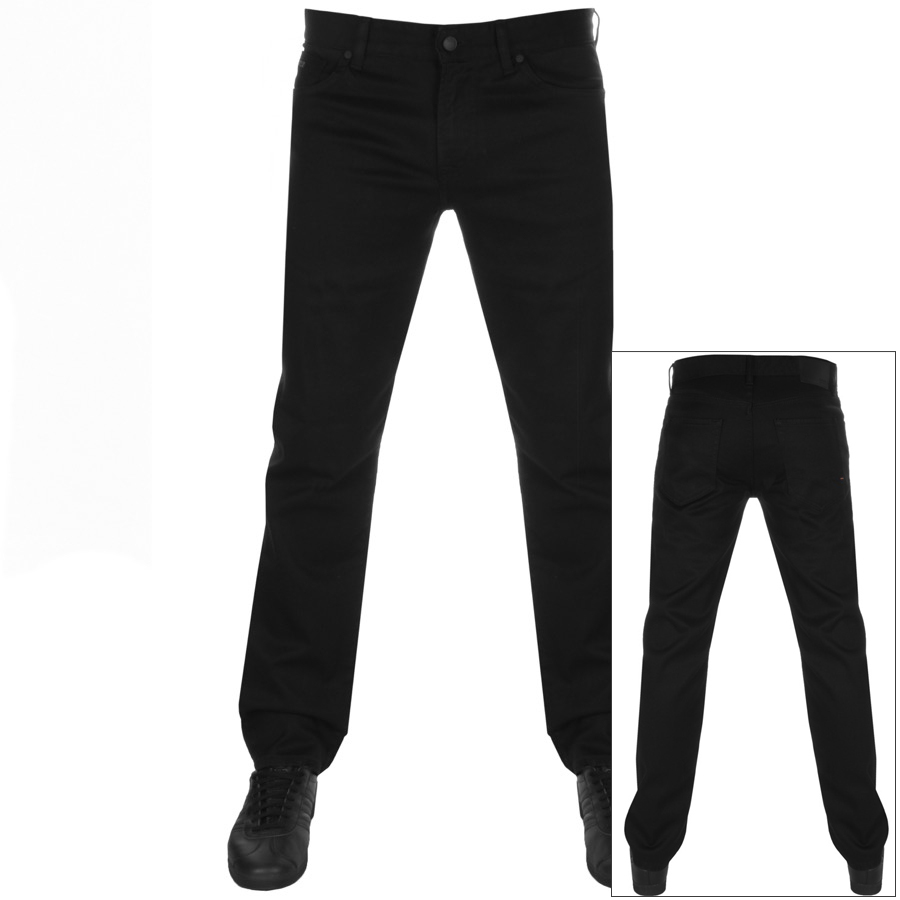Main Product Image for BOSS Casual Maine Regular Fit Jeans Black