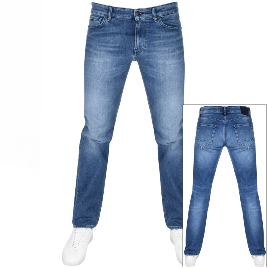 Main Product Image for BOSS Casual Maine Regular Fit Jeans Blue