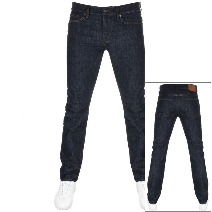 Main Product Image for BOSS Casual Delaware Slim Fit Jeans Black