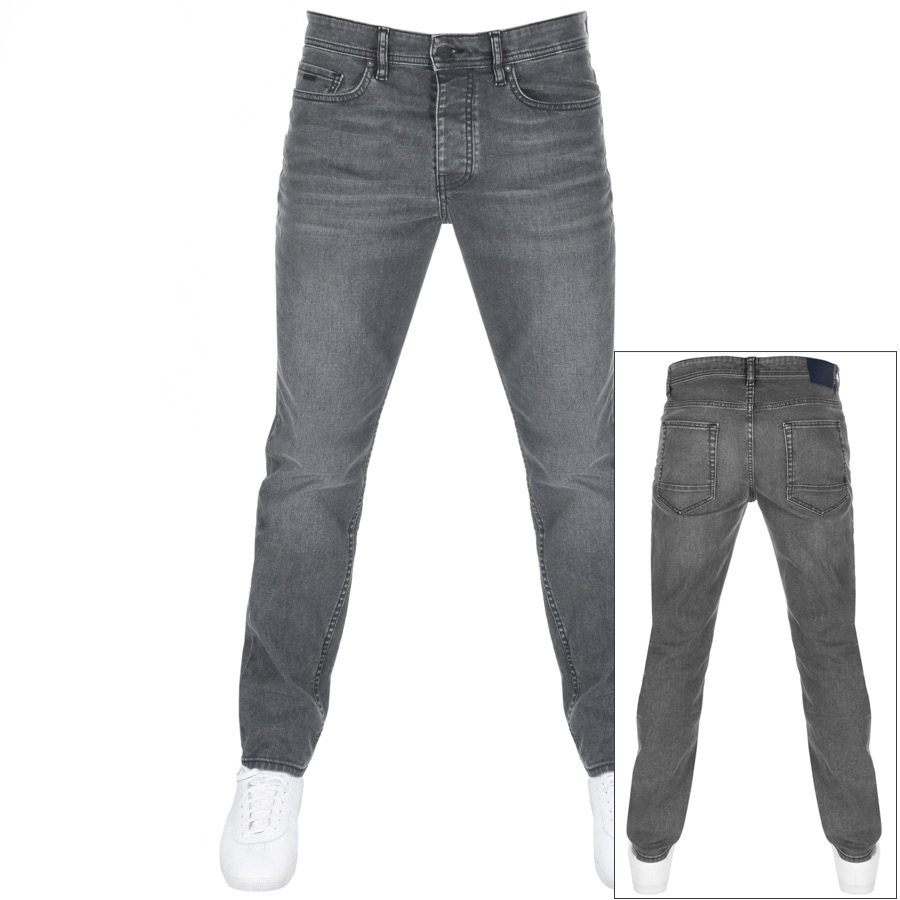 Main Product Image for BOSS Casual Taber Tapered Fit Jeans Grey