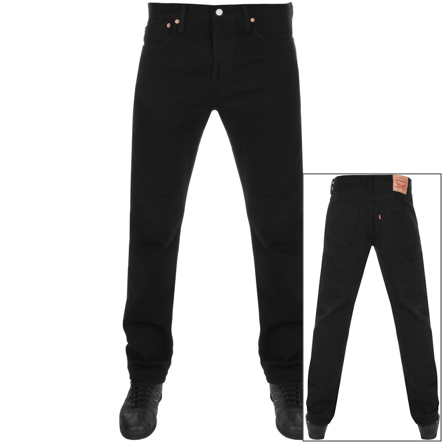 Main Product Image for Levis 501 Original Fit Jeans Black
