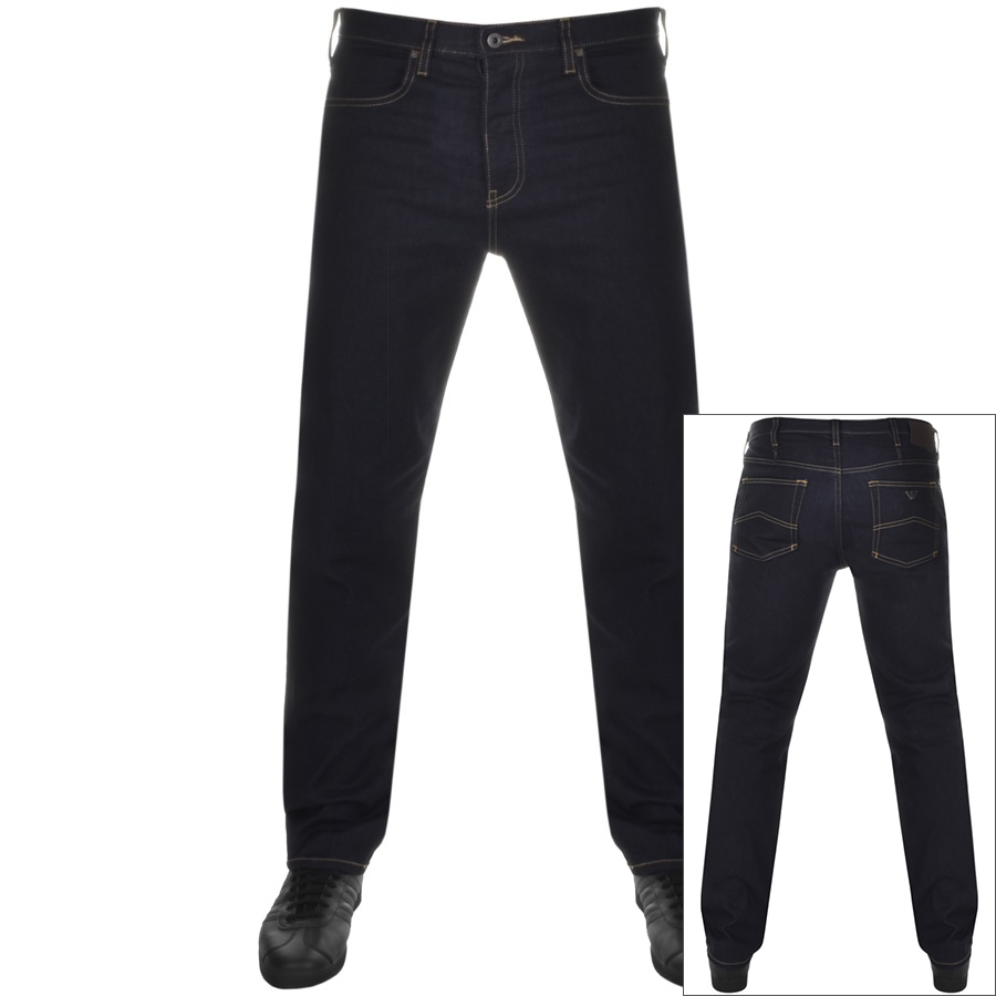 6e047ca0 Product Image for Emporio Armani J21 Regular Fit Jeans Blue