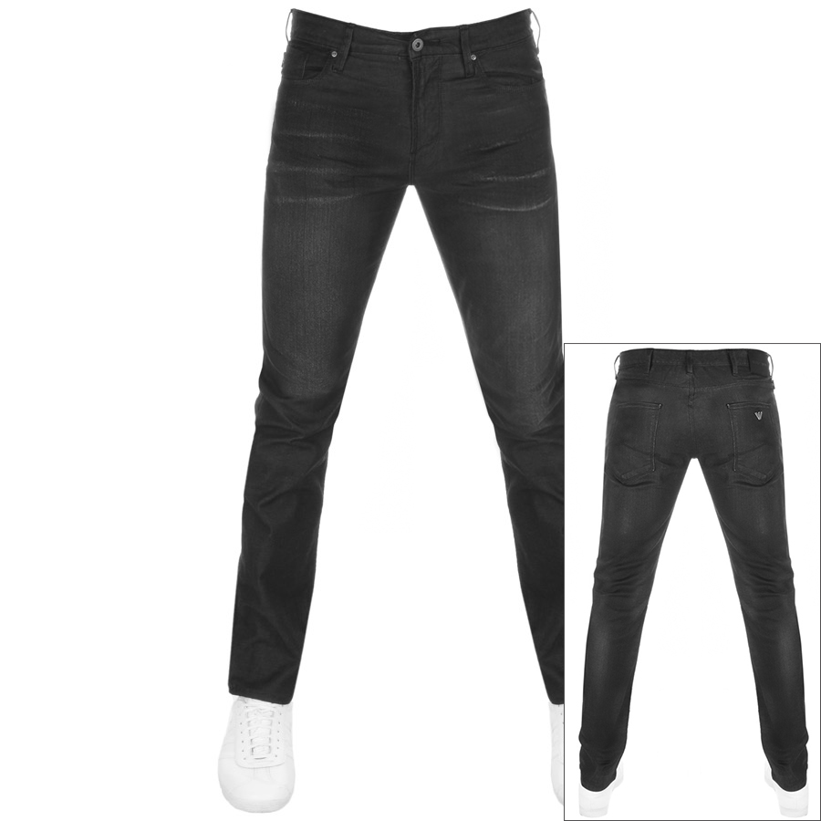 Main Product Image for Emporio Armani J06 Slim Fit Jeans Black
