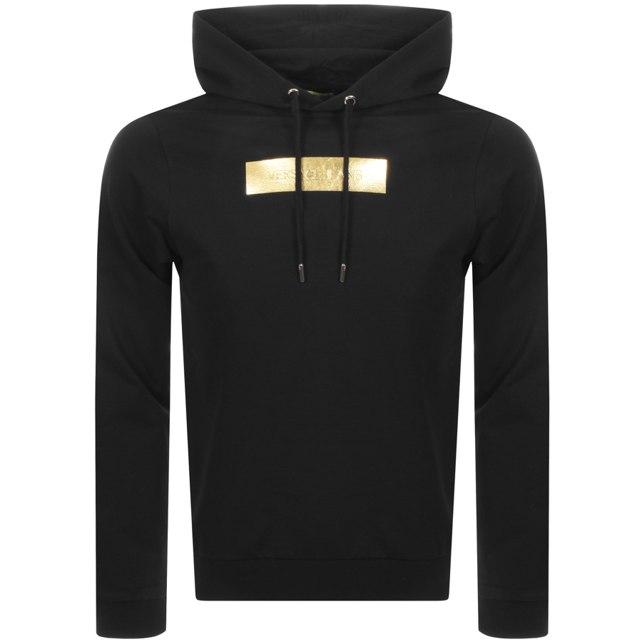 Main Product Image for Versace Jeans Label Hoodie Black
