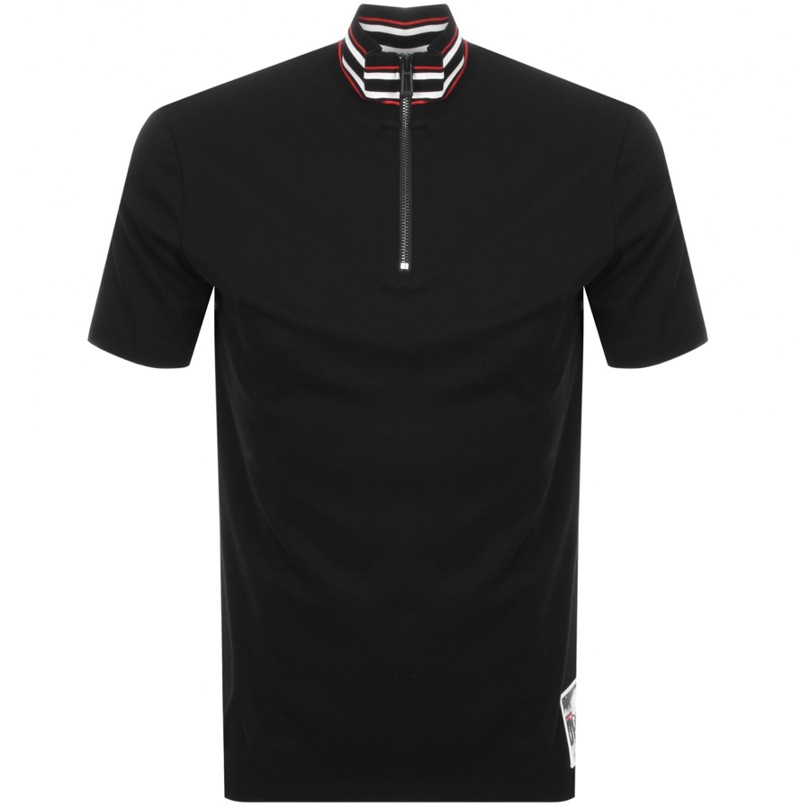 HUGO Daranto T Shirt Black