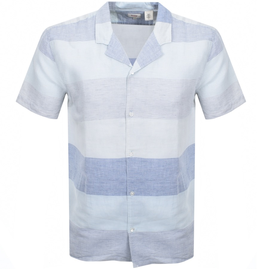 Main Product Image for Levis Short Sleeved Cubano Shirt Blue