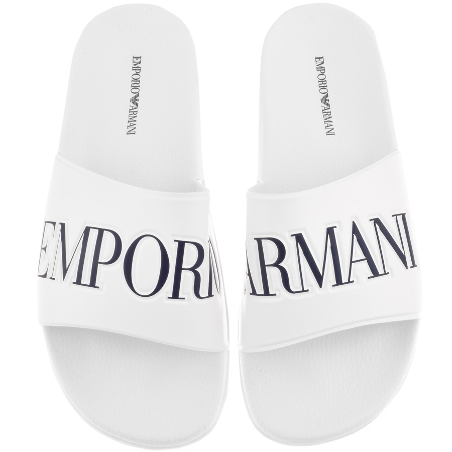 Main Product Image for Emporio Armani Zadar Sliders White