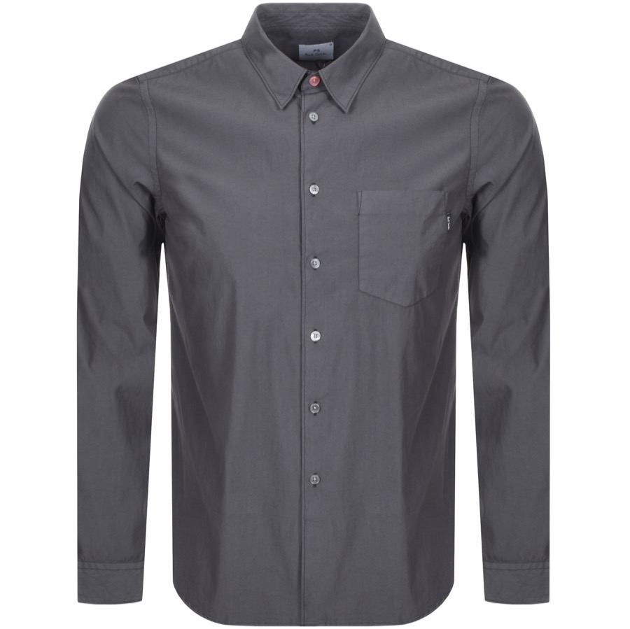 Main Product Image for PS By Paul Smith Pocket Shirt Grey