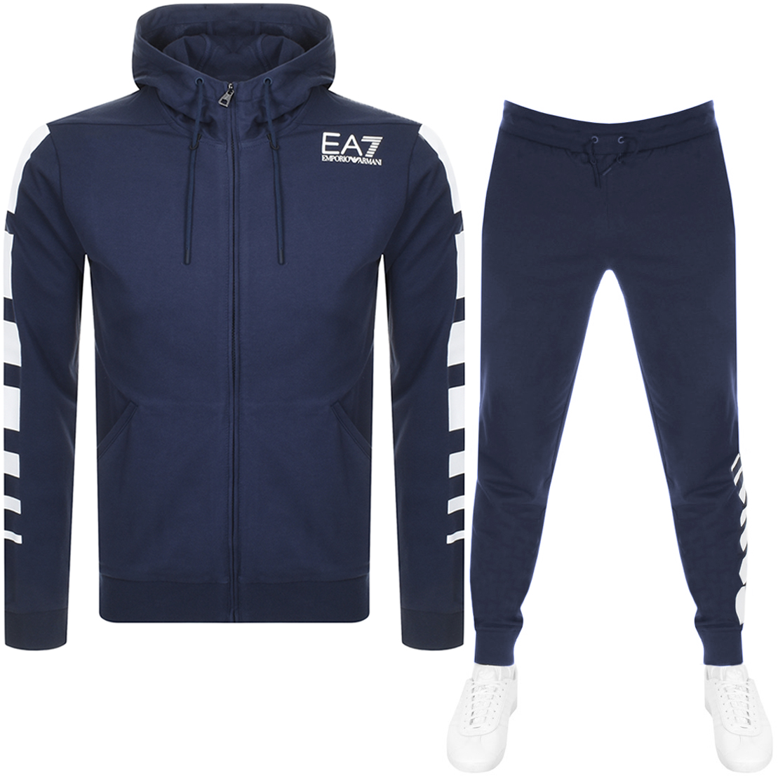 Main Product Image for EA7 Emporio Armani 7 Lines Tracksuit Navy
