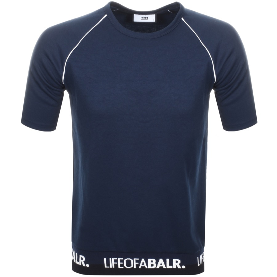 Main Product Image for BALR Life Of A BALR Band T Shirt Navy