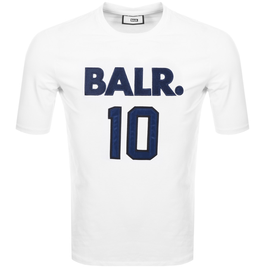 Main Product Image for BALR 10 Logo T Shirt White