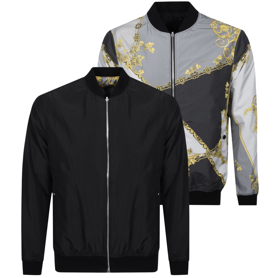 f1a0f92824e5 Versace Collection Reversible Jacket Grey