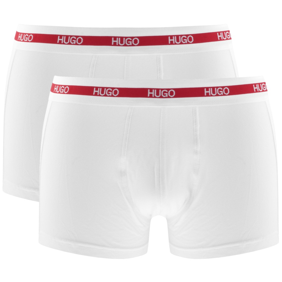Main Product Image for HUGO Two Pack Boxers White