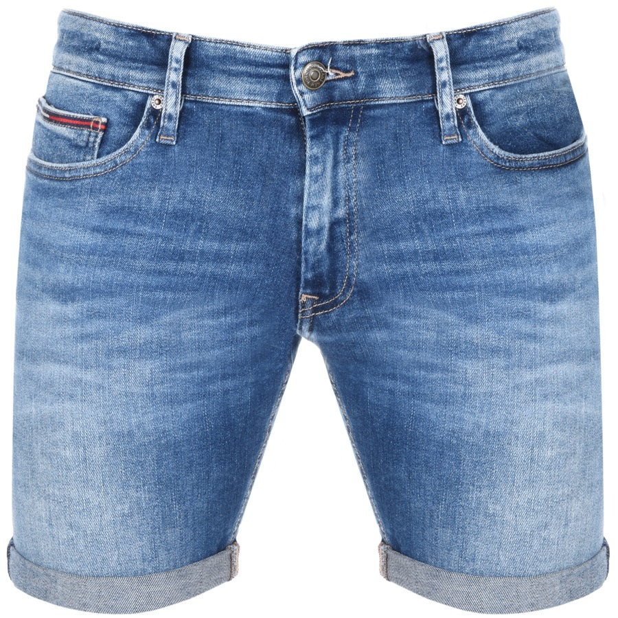 98b198f8b2cfd7 Product Image for Tommy Jeans Scanton Denim Shorts Blue