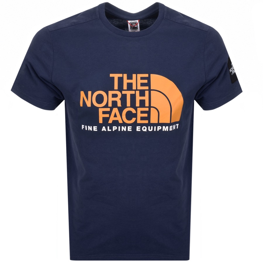 The North Face Fine T Shirt Navy