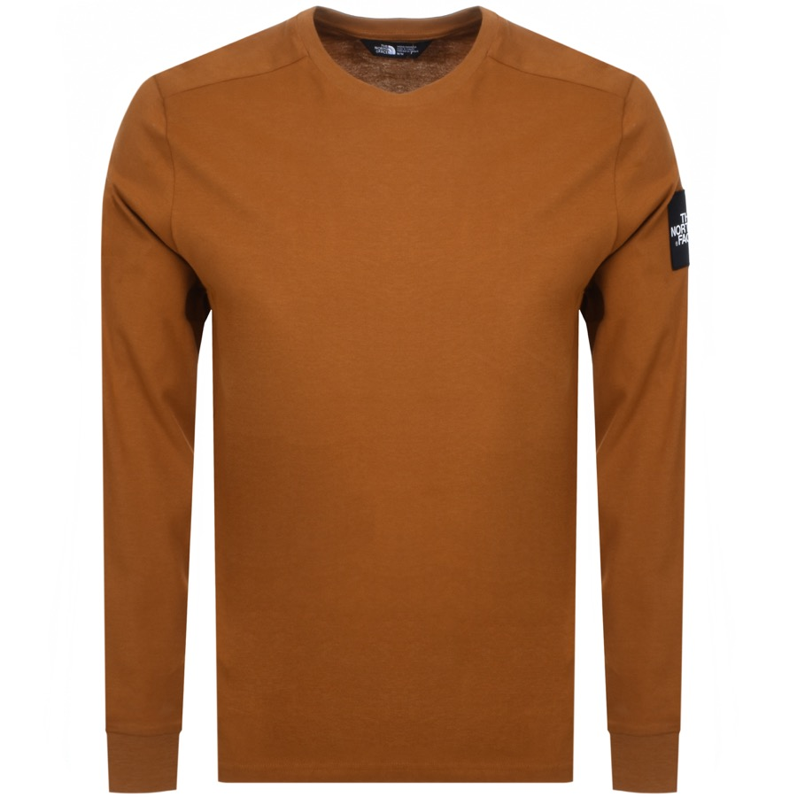 The North Face Long Sleeved Fine T Shirt Brown