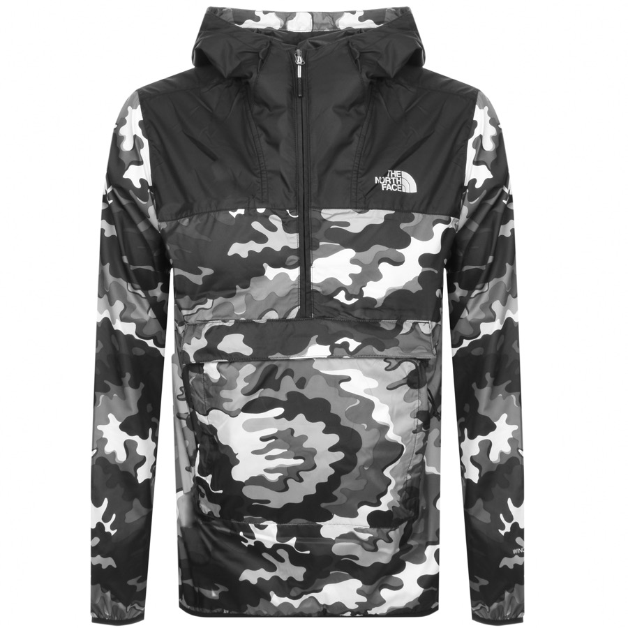 0f48fd467 The North Face Novelty Fanorak Camo Jacket Black | Mainline Menswear