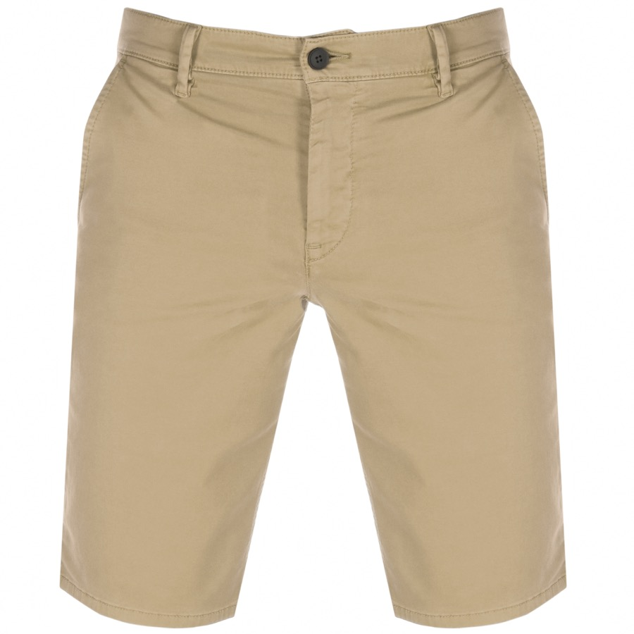 Main Product Image for BOSS Casual Schino Slim Shorts Beige