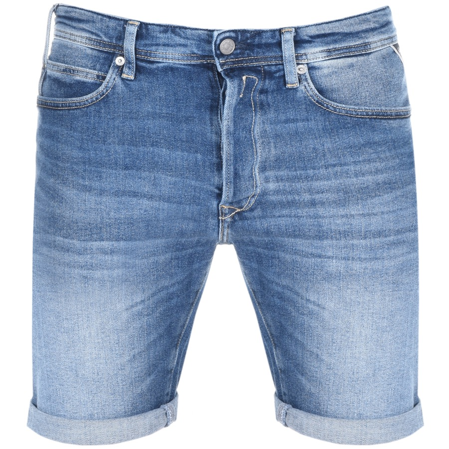 67c51bc900e Product Image for Replay RBJ 901 Denim Shorts Blue