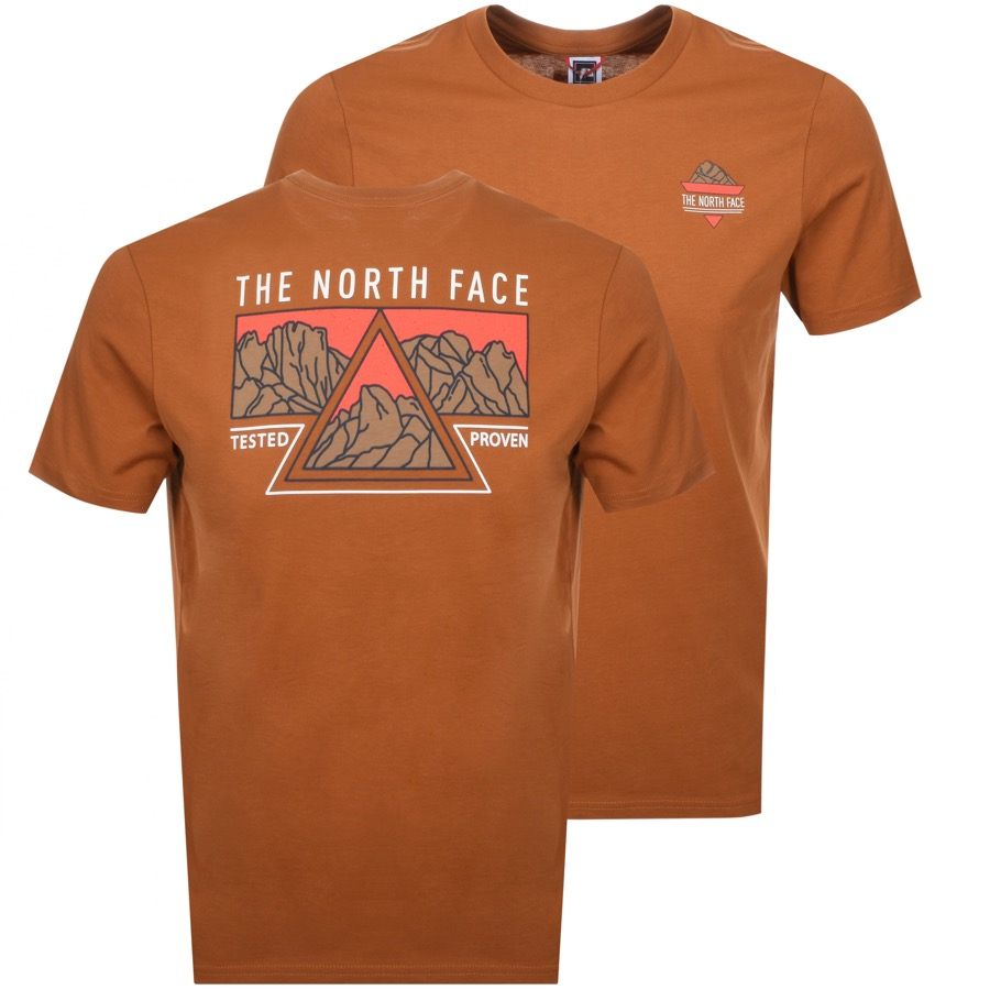 The North Face Ridge T Shirt Brown