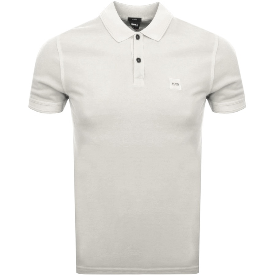 Main Product Image for BOSS Casual Prime Polo T Shirt Beige